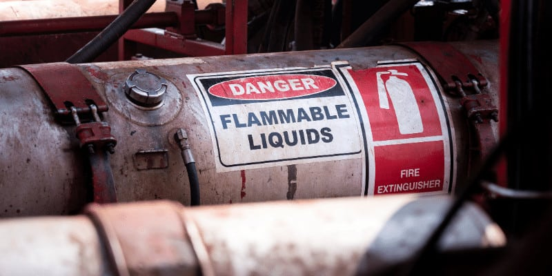 How to Dispose of Flammable Liquids