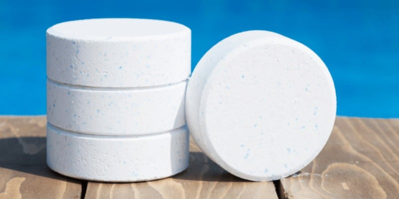 How to Dispose of chlorine tablets